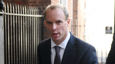 British Foreign Secretary Dominic Raab's requests to the US have fallen on deaf ears.