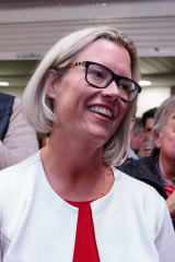 Labor candidate Hannah Beazley during the 2019 federal election.