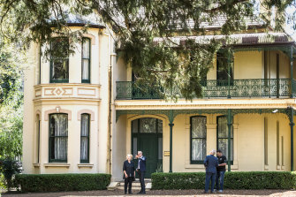 The Italianate villa Willow Grove is to be dismantled and relocated nearby.