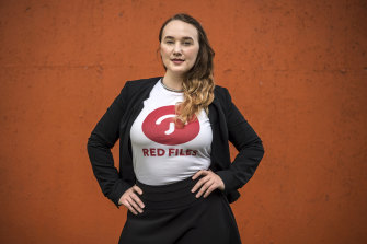 Sex worker Kim Cums is the vice-president of national sex worker charity, Red Files, which was set up to provide a safe online community for sex workers to network, support one other, and prevent exploitation.