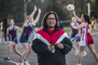 Glenys Paranihi has led a huge effort managing the merger of teams as 10 per cent of the players dropped out.