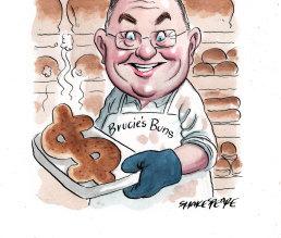 Former small business minister, Bruce BIllson.