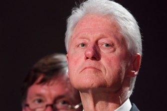 'Heartbroken': former US president Bill Clinton.
