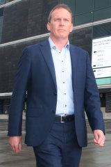 New Cricket Australia CEO Kevin Roberts.