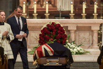 David Malaspina, who spoke at his father's state funeral last year, will take control of Pellegrini's.