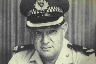 Assistant Commissioner Graeme Parker: A cover-up artist and a crook.