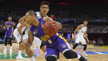 All hail: Kings like Jerome Randle have been a success story for the NBL in a crucial market, as has the return of the Brisbane Bullets further north.
