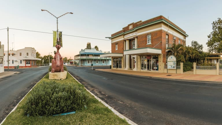 Charleville hopes to attract more tourists to Queensland's outback.