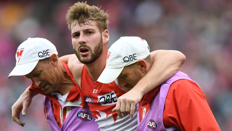 Out of luck: Scans have confirmed the worst with Alex Johnson, who has torn the anterior cruciate ligament in his right knee.