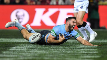 No.1 gun: James Tedesco was brilliant for the Blues in 2018.