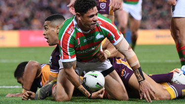 Dane Gagai's try sealed a famous victory.