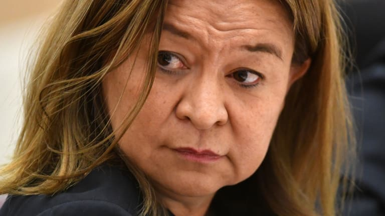 The ABC board sacked managing director Michelle Guthrie last month.