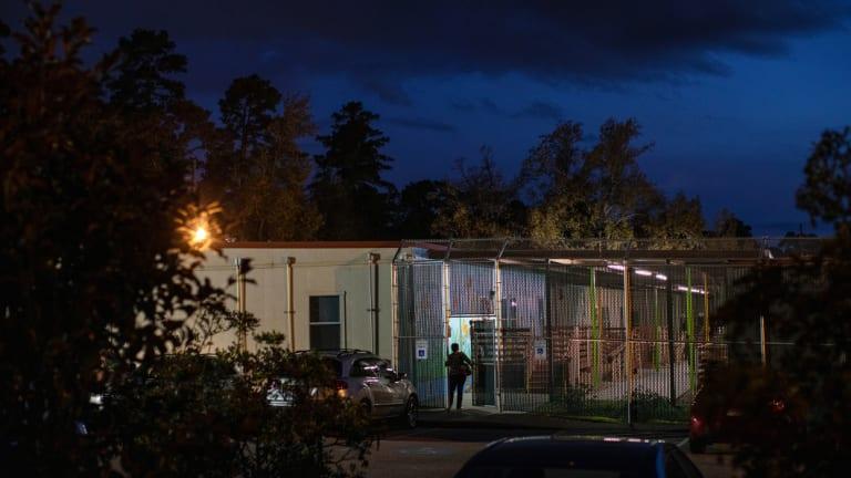 Casa Conroe, a shelter run by Southwest Key Programs, in Conroe, Texas.