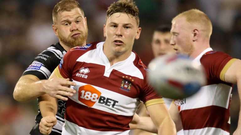 In demand: Wigan five-eighth George Williams.