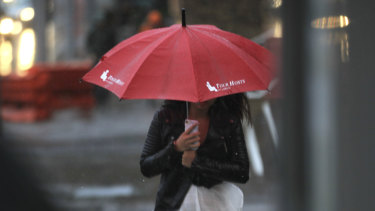 Rain is forecast in Sydney for the last few days of the month.