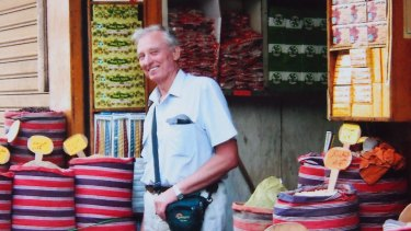 Justice Murray Wilcox holidaying in Morocco in 2010.