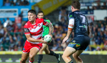 Not the one: It was a mistake putting Gareth Widdop in the No.1 jersey.
