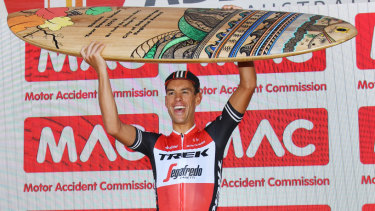 The Tour Down Under podium is nice, but Richie Porte is aiming for Paris.