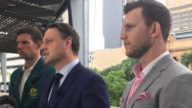 Jeff Horn, Pat Rafter and Daniel Fox ambassadors for Games in October