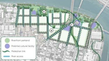 A new plan for debate about how South Bank Parklands should grow.