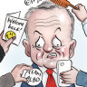 Bill Shorten's dinner dummy spit leaves a sour taste