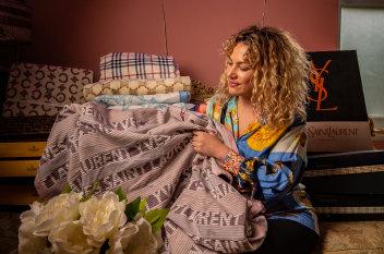 Designer blankets are the new winter status symbol