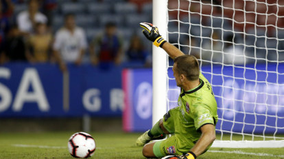 Moss saves Newcastle as A-League visitors pay the penalty