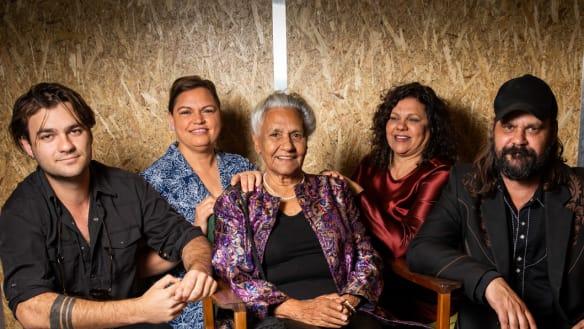 'Nana Freda' is honoured as a pioneer of Indigenous film and TV