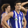AFL rules late free against Roo Thompson was wrong