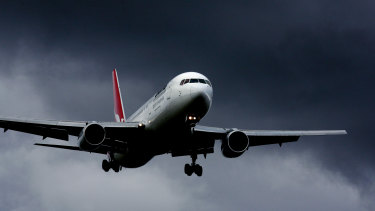 Qantas has no plans to fly directly between India and Australia, a spokesman said.