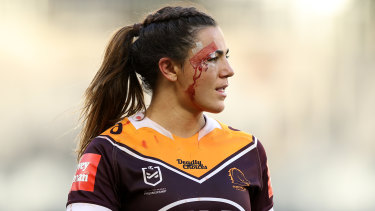 The Broncos' Millie Boyle.