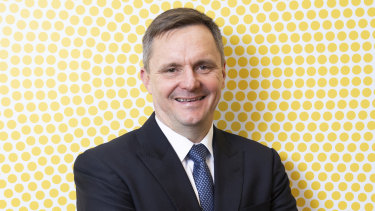 """New Suncorp CEO Steve Johnston says the group's bank is """"strategically important."""""""