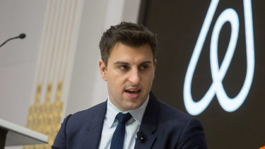 """""""We are collectively living through the most harrowing crisis of our lifetime"""": Airbnb chief Brian Chesky."""