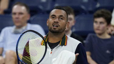 Nick Kyrgios is out of the US Open.
