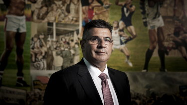 "Former AFL chief executive Andrew Demetriou: ""The public is sick of spin and they respect decisiveness."""