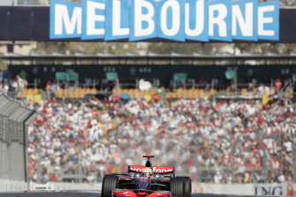Officials say talks about the future of this year's Australian Formula One Grand Prix are ongoing.