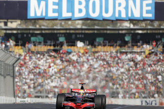 This year's grand prix is going ahead, despite coronavirus fears.