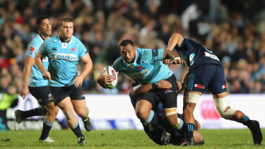 Return to Brookie: The Waratahs play the Hurricanes at the northern beaches ground on Saturday night.