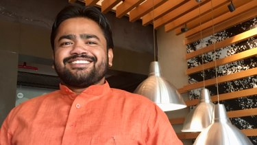 Vishnu Gupta, the founder of Hindu nationalist movement Hindu Sena.