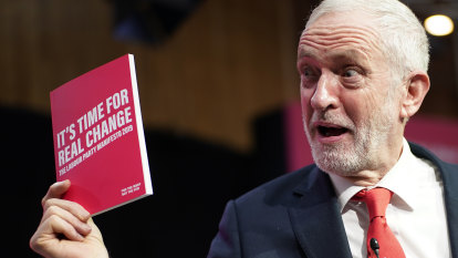 In manifesto, Jeremy Corbyn presents 'radical answers' for the UK