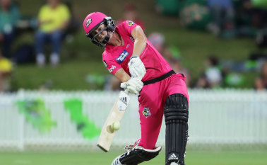 Perry shines as Sixers smash Thunder in WBBL derby fizzer