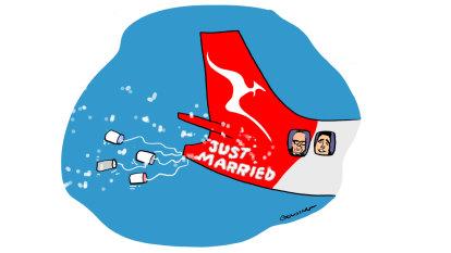 Wedding bells to round off big year for Qantas chief Alan Joyce