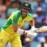 Warner and Finch dominate in scorching Sydney