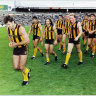 From the Archives, 1992: Dunstall kicks 17 as the Hawks thrash the Tigers