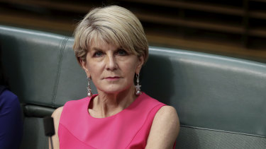 Labor's greatest fear? ... Julie Bishop.