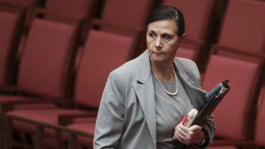 Senator Concetta Fierravanti-Wells wants a new consolidated anti-discrimination framework, instead of the government's proposed religious discrimination bill.