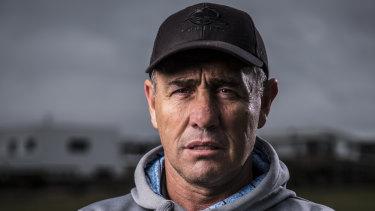 Former Cronulla coach Shane Flanagan.