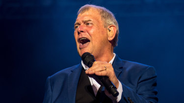 John Farnham performs at A Day on The Green.