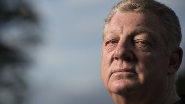 Phil Gould defended Garth Brennan.