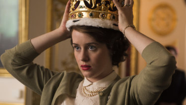 Claire Foy played Elizabeth II in the first two seasons of The Crown.